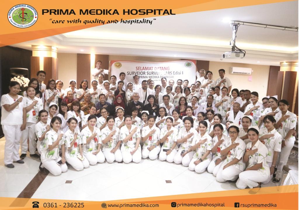 Survei SNARS Edisi 1 diselenggarakan di Prima Medika Hospital