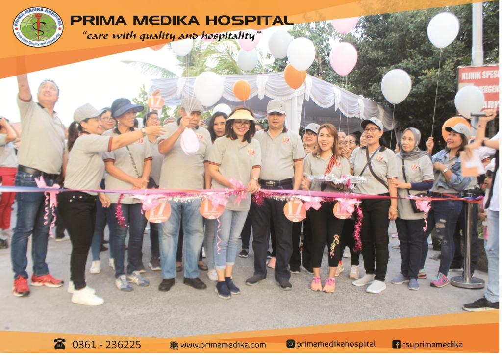 Perayaan HUT 17 Tahun Prima Medika Hospital