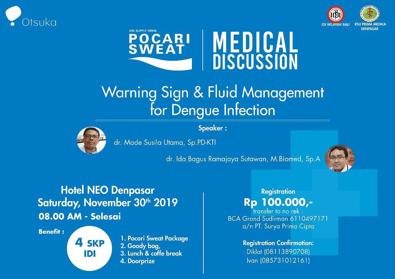 "Seminar Medis ""Warning Sign & Fluid Management for Dengue Infection"""